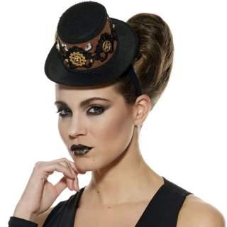 Serre-tête chapeau steampunk