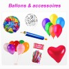 Ballons gonflables