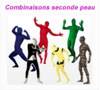 Combinaisons seconde peau