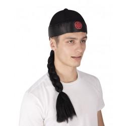 Bonnet de chinois avec tresse