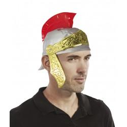 Casque de romain or et...