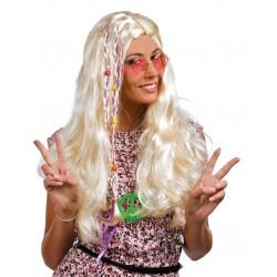 Perruque hippie avec tresse...