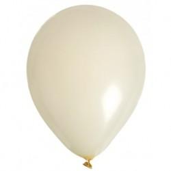 24 ballons ivoire 28 cm