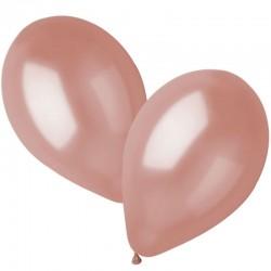 100 ballons rose gold 26 cm
