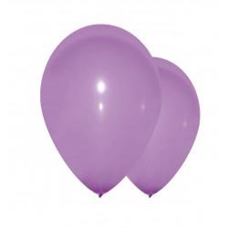 10 ballons lilas 28 cm