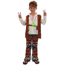 Costume enfant hippie 5/6 ans