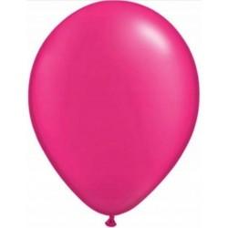 100 ballons fushia 30 cm