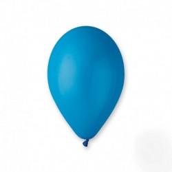100 ballons bleu moyen 30 cm