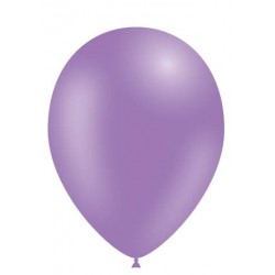 100 ballons lilas 28 cm