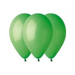 100 ballons verts 30 cm