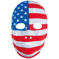 Masque drapeau américain